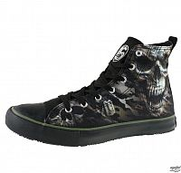 topánky pánske SPIRAL - CAMO-SKULL - Tenisky - T141S001 43cf99d6844