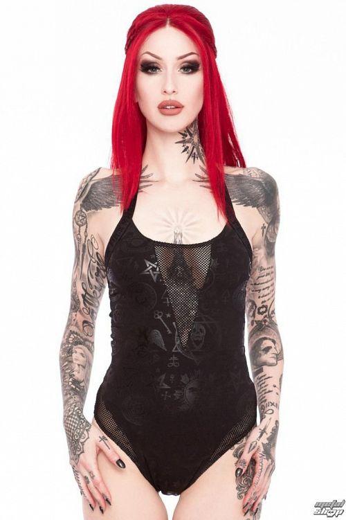 body dámske KILLSTAR - Morgana Workaholic - Black - K-BDY-F-2375