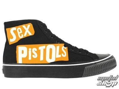 boty DRAVEN - Sex Pistols Hi - BLK