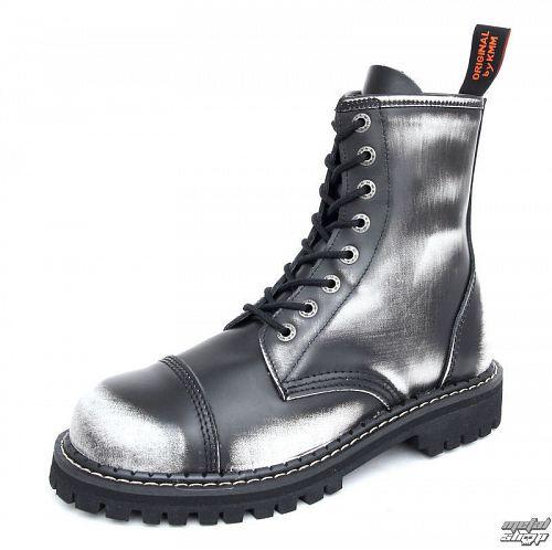 boty KMM - šedé - osemdierkové