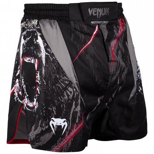 boxerské kraťasy pánske Venum - Grizzli - Black/White - Venum-03438-108