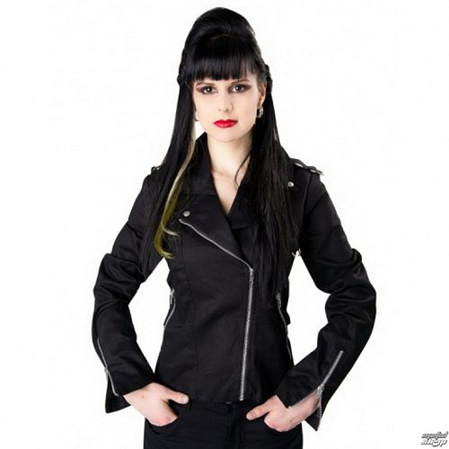 bunda dámska BLACK PIŠTOL - Biker - Black - B-6-06-001-00