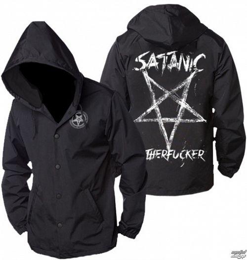 bunda pánska jarno/jesenná BLACK CRAFT - Satanic Motherfucker - Windbreaker