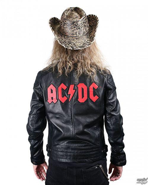 bunda pánska kožená AC/DC - LNTC BLACK - AD-17-MSJ-02