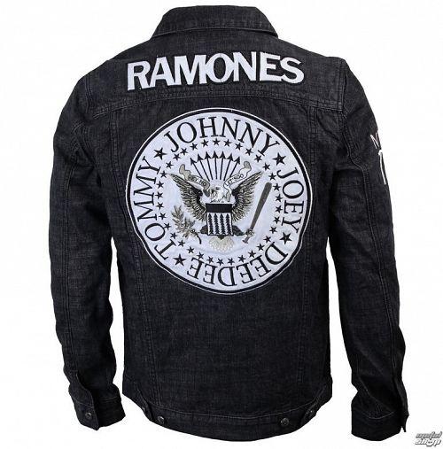 bunda pánska Ramones - Seal - Denim - BRAVADO - 95222041