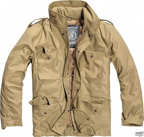 bunda pánska zimný BRANDIT - M65 Standard Camel - 3108/70