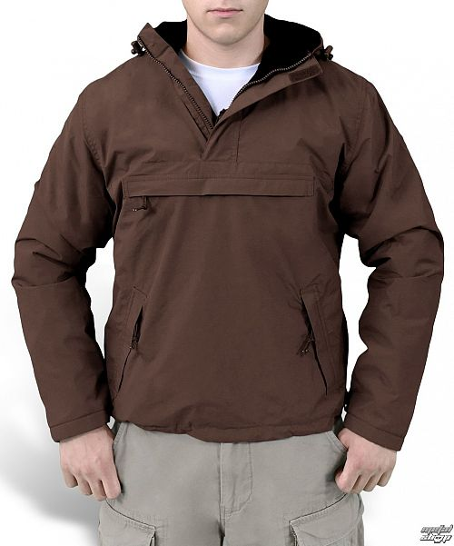 bunda (vetrovka) SURPLUS - Windbreaker - BROWN - 20-7001-05