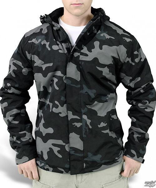 bunda (vetrovka) SURPLUS - Windbreaker + Zipper - 20-7002-42 - NIGHTCAMO