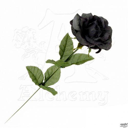 čierna ruža Black Imitation rose - Alchemy Gothic