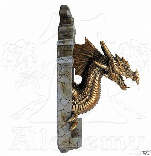 dekorácia ALCHEMY GOTHIC - The Laidly Relic: Wall Plaque - V19
