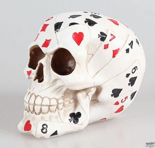 dekorácia Dead Mans Hand Skull - AL50067