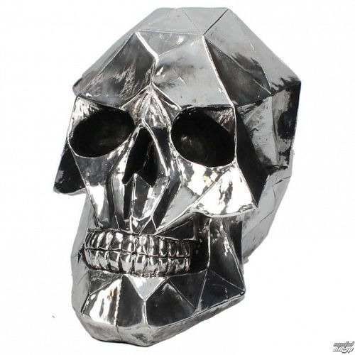 dekorácia Geometric Skull - D3053H7