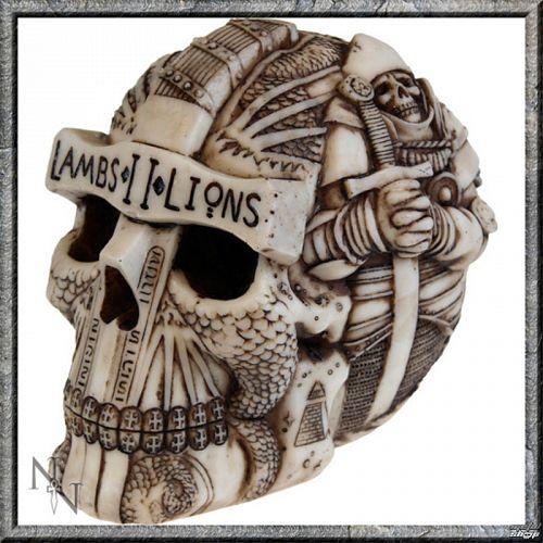 dekorácia Lebka - Lambs II Lions - C0818C4