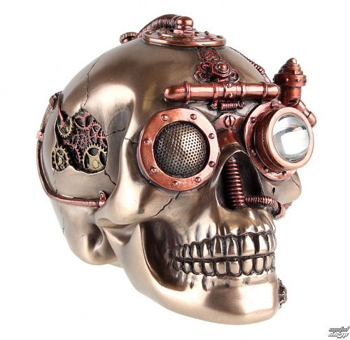 dekorácia Steam Powered Pozorovanie Skull - D1174D5
