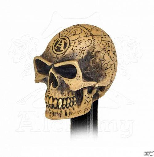 hlavica radiacou páky ALCHEMY GOTHIC - Omega Skull - V48