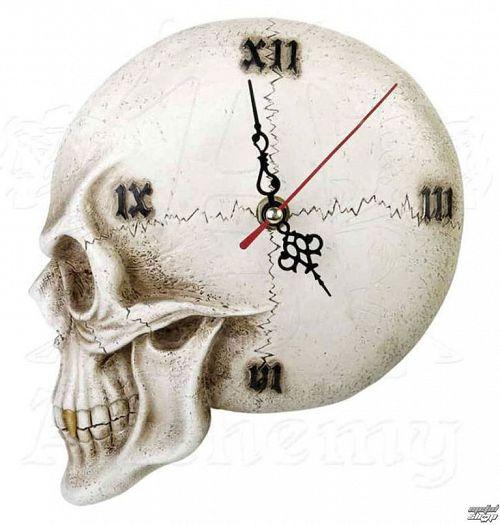 hodiny ALCHEMY GOTHIC - Tempore Mortis Skull - V32