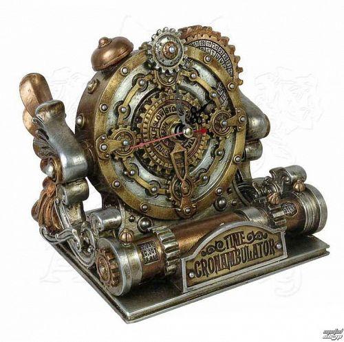 hodiny (dekorácia) ALCHEMY GOTHIC - Time Chronambulator - V26