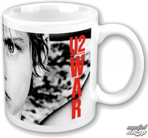 hrnček U2 - War Boxed Mug - ROCK OFF - U2MUG01