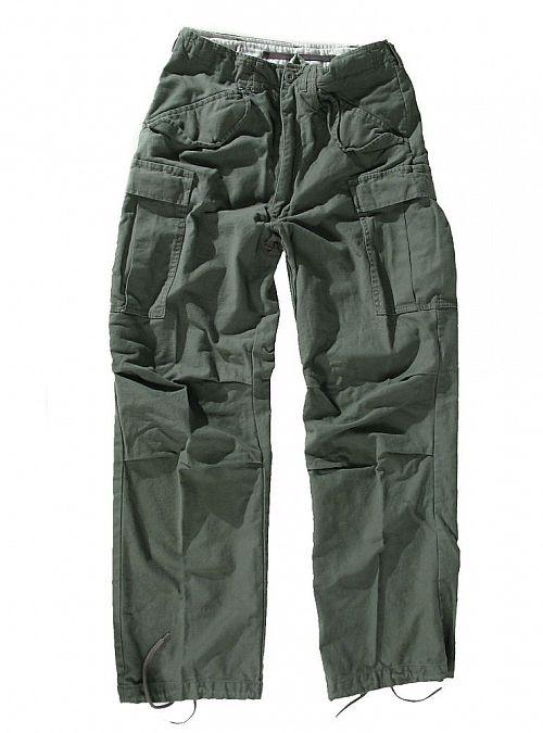 kalhoty pánské M65 Pant NYCO washed - OLIV - 200201