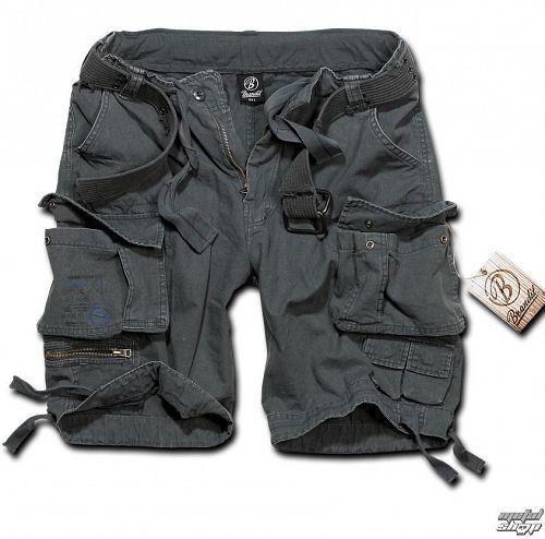 kraťasy pánske BRANDIT - Gladiator Vintage Shorts Anthracite - 2001/5