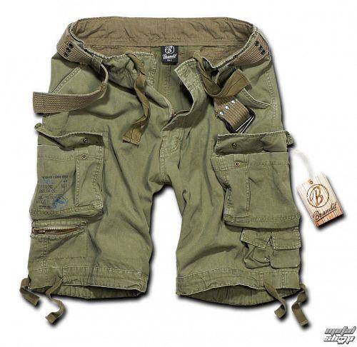 kraťasy pánske BRANDIT - Gladiator Vintage Shorts Oliv - 2001/1