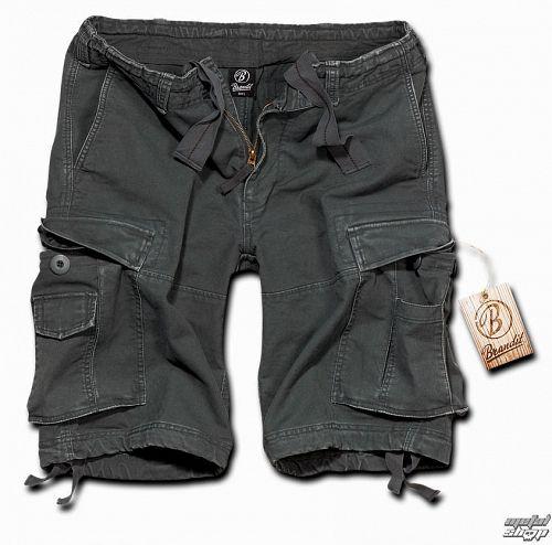 kraťasy pánske BRANDIT - Vintage Shorts Anthracite - 2002/5