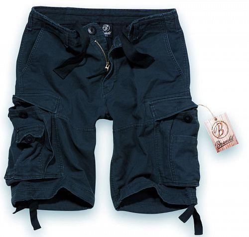 kraťasy pánske BRANDIT - Vintage Shorts Black - 2002/2