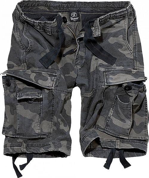 kraťasy pánske BRANDIT - Vintage Shorts Darkcamo - 2002/4