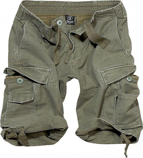 kraťasy pánske BRANDIT - Vintage Shorts Oliv - 2002/1