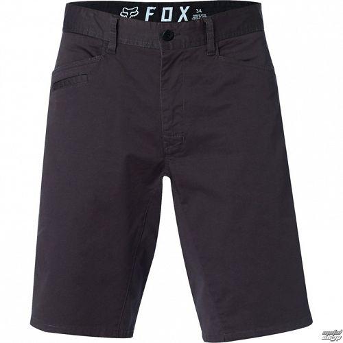 kraťasy pánske FOX - Stretch Chino - Black Vintage - 21163-587