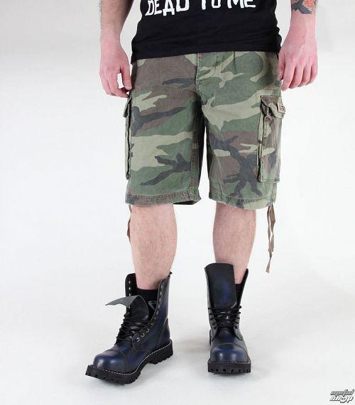 kraťasy pánske MIL-TEC - Paratrooper - Prewash Woodland - 11403020
