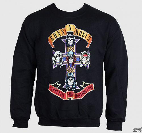 mikina pánska Guns N' Roses - Black Cross - BRAVADO - GNR1573