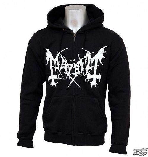 mikina pánska Mayhem - De Mysteriis Dom Sathanas - PLASTIC HEAD - PH1085
