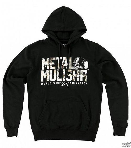 mikina pánska METAL MULISHA - Chill - FA6521000.01_BLK