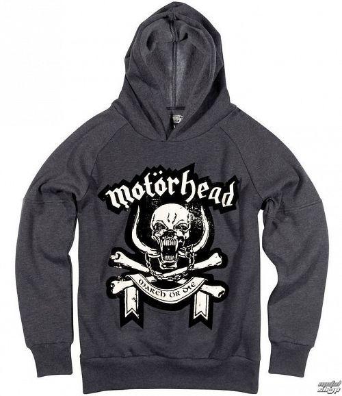 mikina pánska Motörhead - Marl - AMPLIFIED - Dark Grey - AV293MHD