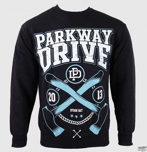 mikina pánska Parkway Drive - Axe - Black - KINGS ROAD - 54092