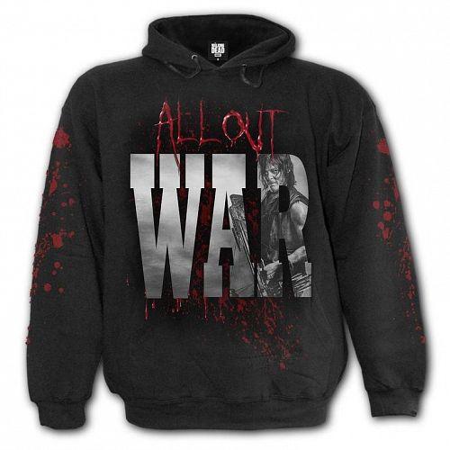 mikina pánska SPIRAL - ALL OUT WAR - Walking Dead - G010M472