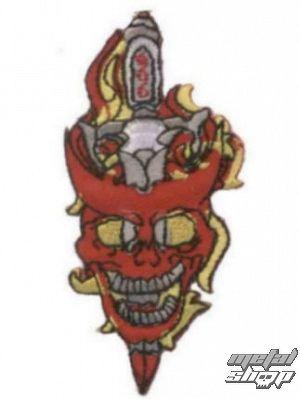 nášivka nažehľovacia Lebka 18 - 97173-925