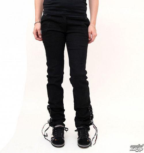 nohavice dámske bedrové EMILY THE STRANGE Feeling  Strange 2 jeans - 3232240