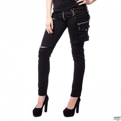 nohavice dámske Vixxsin - SCARLETT - BLACK - POI348