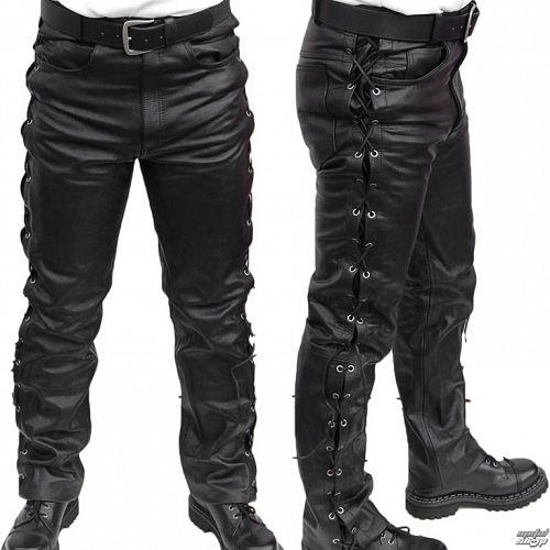 nohavice kožené pánske MOTOR - MOT003