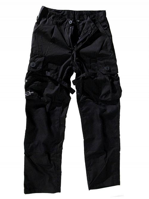 Nohavice  pánské BOOTS & BRACES - Pant Nightmare - Black - 300616