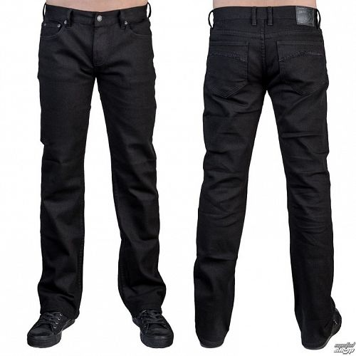 nohavice pánske (jeans) WORNSTAR - Essentials - Trailblazer Black Denim - WSP-05-TBK