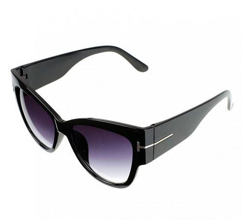 okuliare slnečné dámske JEWELRY & WATCHES - Cat - Black - JW004