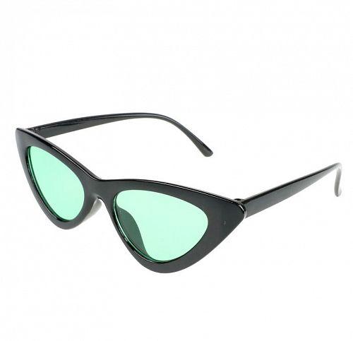 okuliare slnečné JEWELRY & WATCHES - CAT EYE - Black - JW008