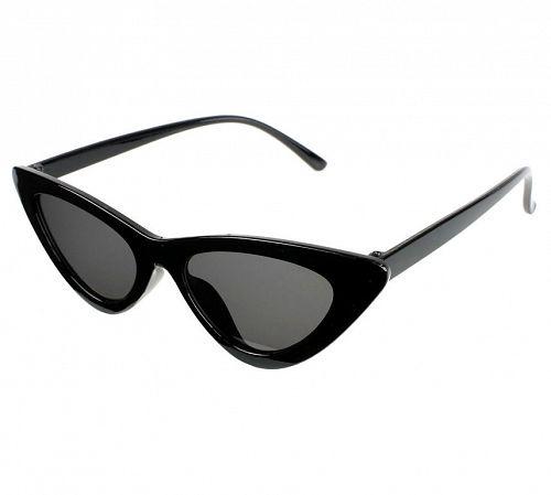 okuliare slnečné JEWELRY & WATCHES - CAT EYE - Black - JW009