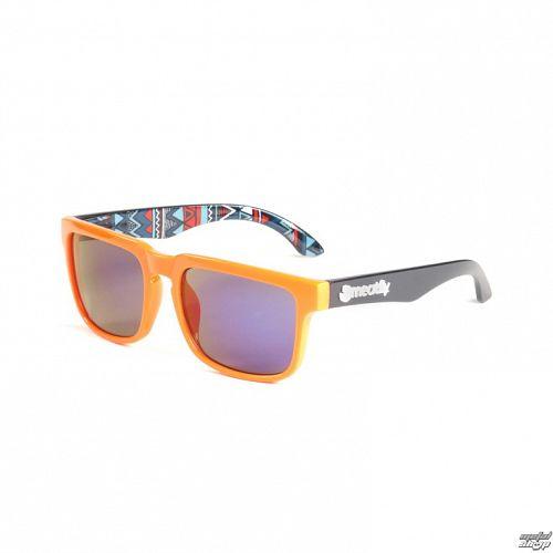okuliare slnečné MEATFLY - Blade - B - Orange / Black - MEAT053
