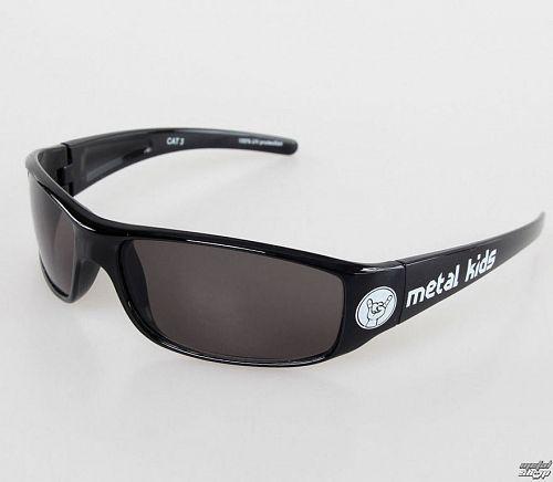 okuliare slnečné Metal-Kids - Metal Kid - Glossy Black - MK15-1