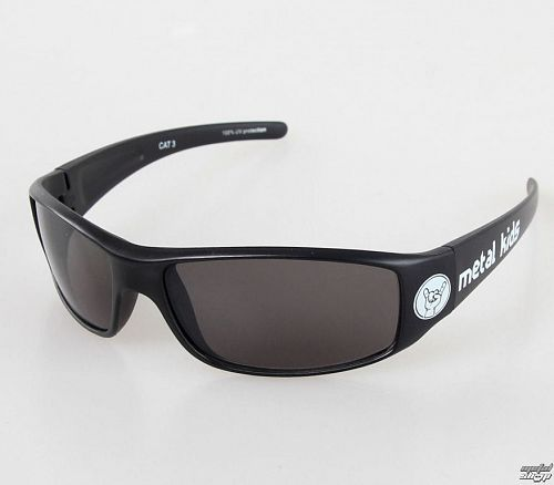 okuliare slnečné Metal-Kids - Metal Kid - Glossy Black - MK15-2