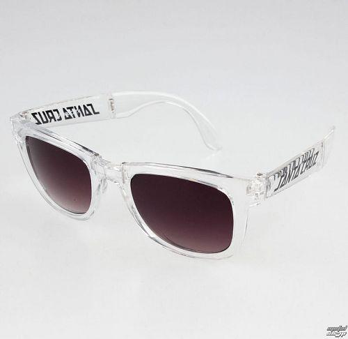 okuliare slnečné SANTA CRUZ - Trans - SCASUN-011 CLEAR